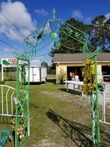 Iron Garden Arbor in Green #1028-47 in Wilmington, North Carolina