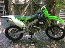 Kawasaki KX450 in Fort Drum, New York