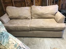 Rooms to Go Taupe Microfiber Sofa in Wilmington, North Carolina