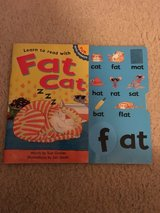 Learn to read with Fat Cat book in Camp Lejeune, North Carolina