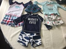 baby boy nine month swimwear in Oceanside, California