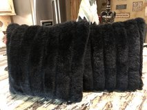 2 faux fur pillows in Spring, Texas