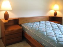 Canadian teak bedroom set in New Lenox, Illinois