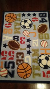 Sports theme rug in Glendale Heights, Illinois