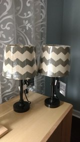 Set of brand new table lamps in Glendale Heights, Illinois