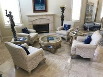Beautiful living room furniture in San Clemente, California