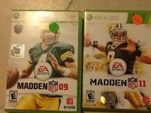 Xbox 360 Madden games in 29 Palms, California