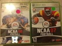Xbox 360 NCAA Football games in 29 Palms, California