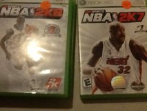 Xbox 360 NBA games and NBA LIVE games in 29 Palms, California
