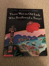NEW There was an Old Lady Who Swallowed a Trout! book in Camp Lejeune, North Carolina
