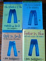 The Sisterhood Of The Traveling Pants 4 Books Set in Lawton, Oklahoma