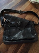 Messenger bag, Leather, Spikes and Sparrow in Wiesbaden, GE