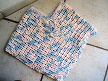 Blue/Pink/White poncho shawl size 6-7 in Stuttgart, GE