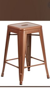 Copper Barstools (set of 6) in Beaufort, South Carolina