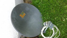 Sat Dish from HUTH in Spangdahlem, Germany