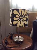 black, white and silver table lamp in Lakenheath, UK