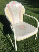 hand painted chair in Glendale Heights, Illinois