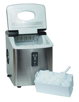 Igloo ICE103 Counter Top Ice Maker with Over-Sized Ice Bucket, Stainless Steel in Lancaster, Pennsylvania