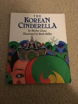 The Korean Cinderella book in Camp Lejeune, North Carolina
