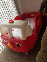 Toddler fire truck bed in Travis AFB, California