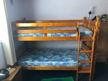 Wooden Bunk Bed in Travis AFB, California