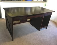 Brown desk in Oceanside, California