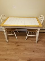 Kitchen/Dining Room Table & 2 Chairs in Joliet, Illinois