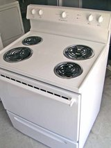 Stove-Range-White-Electric-Frigidaire-3 months warranty in Warner Robins, Georgia