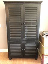 Black TV Armoire in Joliet, Illinois
