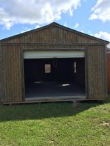16X28 GARAGE OWNER FINANCE NO CREDIT CHECK FREE DELIVERY in Liberty, Texas