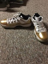 White and gold Nike in Joliet, Illinois