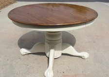 "Shabby/Farmhouse 48"" Oak Dining Table in Camp Pendleton, California"