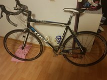 trek road bike + indoor trainer + 10.5 road shoes in Stuttgart, GE