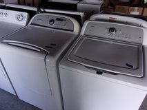 Maytag Bravos Washer and Whirlpool Cabrio Dryer Set in Fort Riley, Kansas