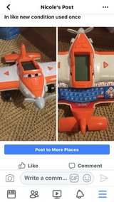 Disney Planes Dusty Soar and Learn Plane by VTech, in Bolingbrook, Illinois