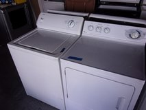 Kenmore Washer and GE Select Dryer Set in Fort Riley, Kansas