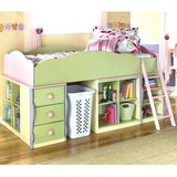 Girls twin size captain bed. in Fort Lewis, Washington
