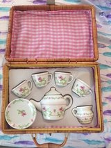GIRLS PICNIC TEA SET, 10 PIECES BRAND NEW CONDITION in Kingwood, Texas