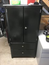 Black Painted Storage Cabinet Chest in Naperville, Illinois