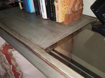 Olive Green Sofa Table in Fort Belvoir, Virginia