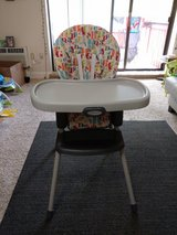 Graco simple switch 2 in 1 High chair in Brockton, Massachusetts