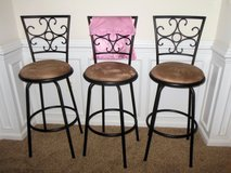 Set of 3  Bar Stools in Bolling AFB, DC