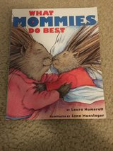What Mommies Do Best and What Daddies Do Best Book in Camp Lejeune, North Carolina