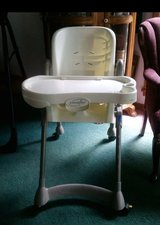 Highchair on wheels. in Fort Leonard Wood, Missouri