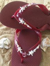 Flip flops by Sizzlin Soles in Yucca Valley, California