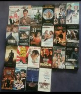 VHS Lot of 22 Popular Movies in Fort Leonard Wood, Missouri