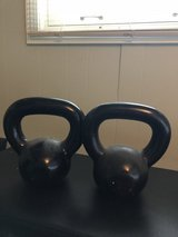 Kettlebells two 20#, KB 20 Pounds Each in St. Charles, Illinois
