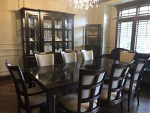 Dining room table and China cabinet in Joliet, Illinois