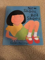New Shoes, Red Shoes book in Camp Lejeune, North Carolina