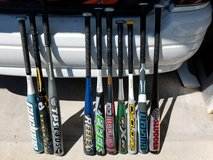 Baseball and softball bats in Plainfield, Illinois